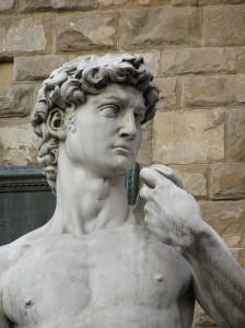 David close up
