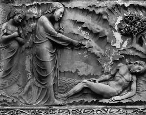 Creation of Adam by Lorenzo Maitani