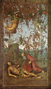 Creation of Adam by Raphael