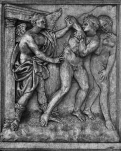 Expulsion from the Paradise 1435 by Jacopo della Quercia